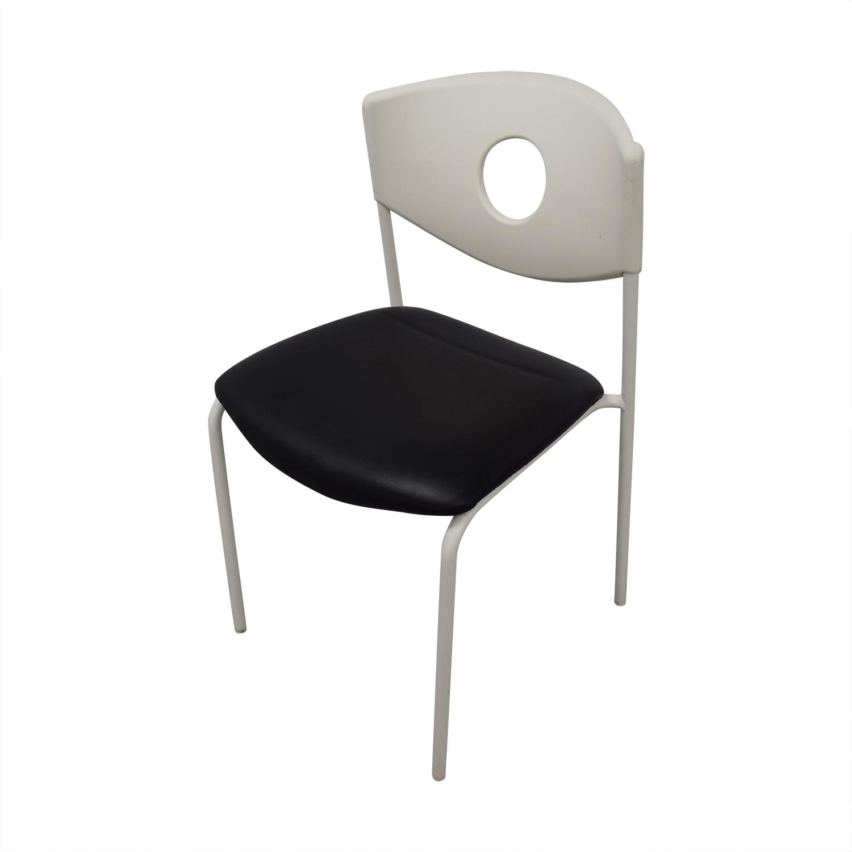 90 Off Ikea Ikea Stoljan Black And White Chairs Chairs