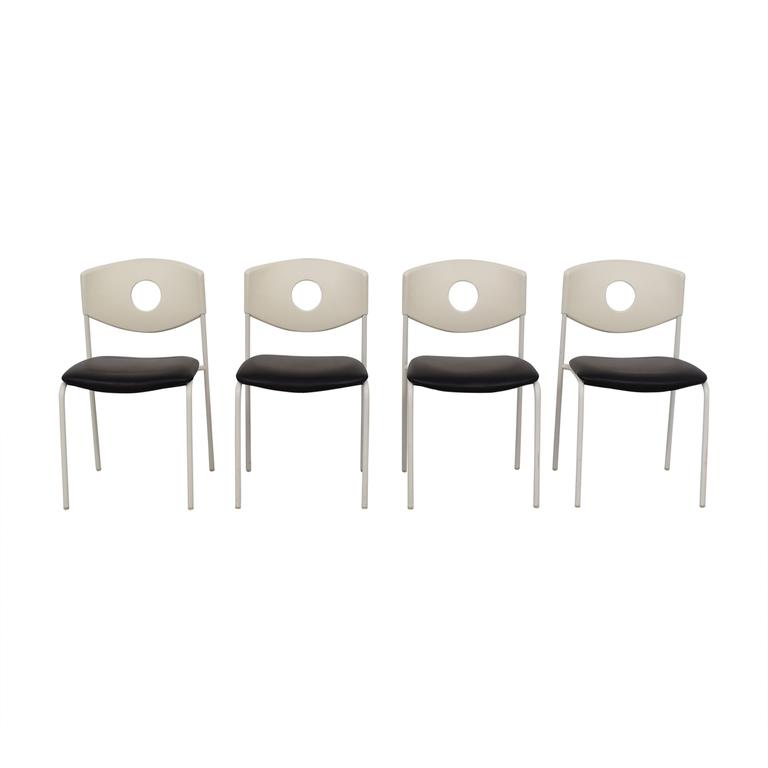 shop IKEA Stoljan Black and White Chairs IKEA