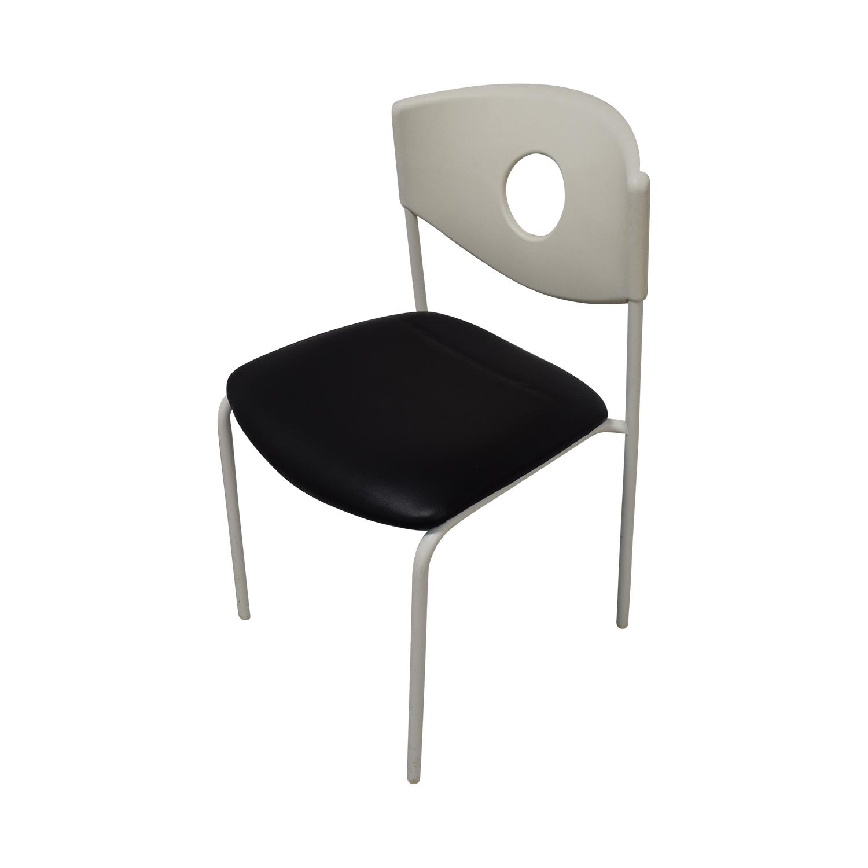 buy IKEA Stoljan Black and White Chairs IKEA Dining Chairs