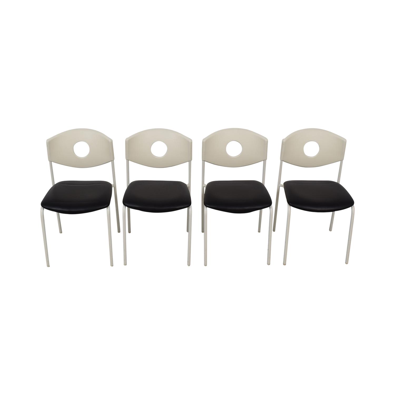 IKEA IKEA Stoljan Black and White Chairs price