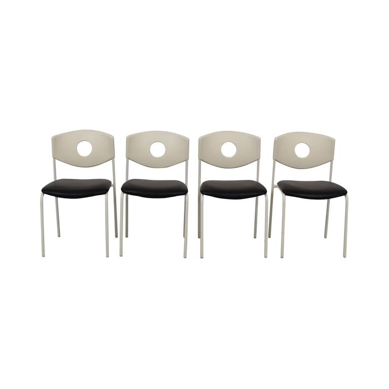 IKEA IKEA Stoljan Black and White Chairs second hand