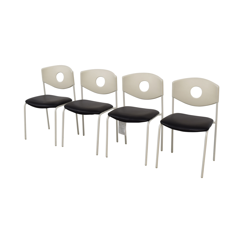 IKEA IKEA Stoljan Black and White Chairs on sale