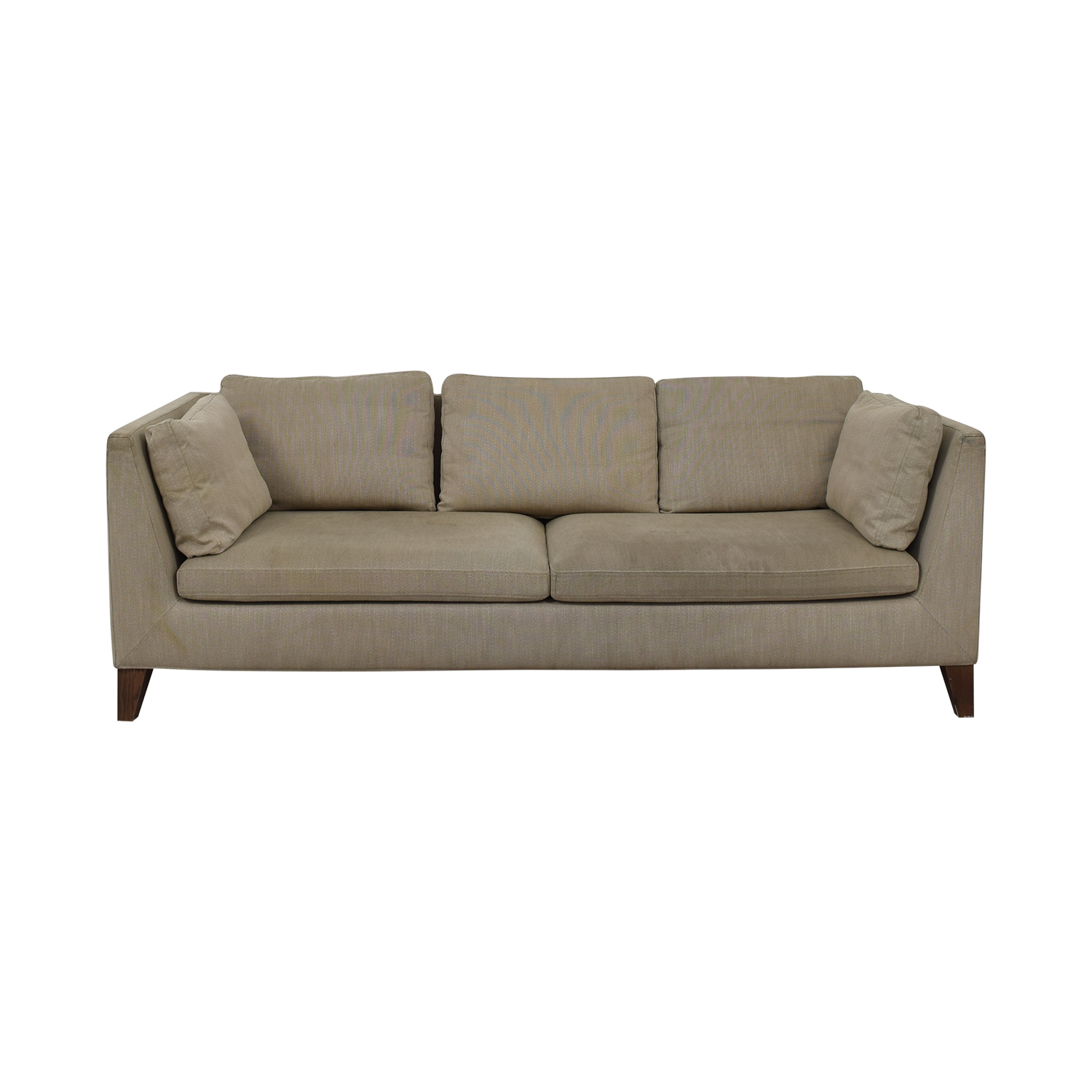IKEA Stockholm Beige Two-Cushion Sofa / Sofas