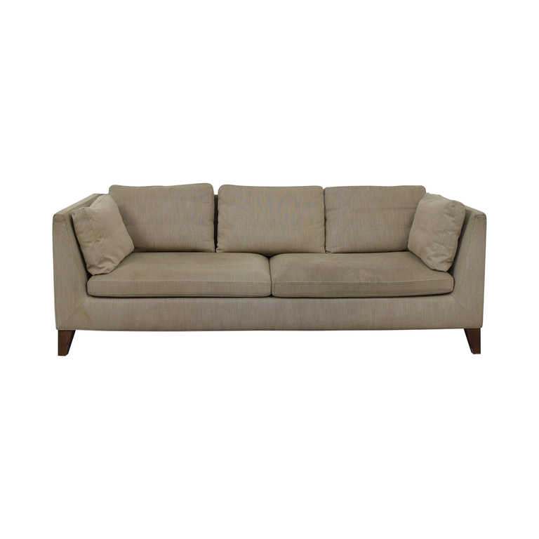 IKEA Stockholm Beige Two-Cushion Sofa sale