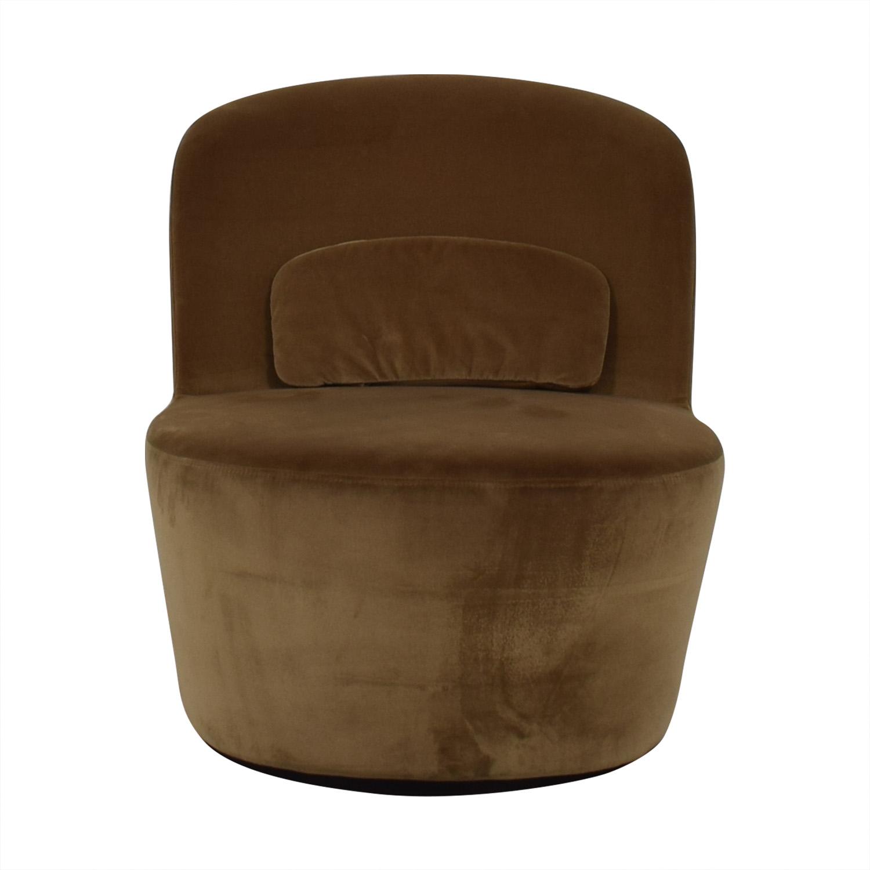 56 Off Ikea Ikea Tan Slipper Chair Chairs