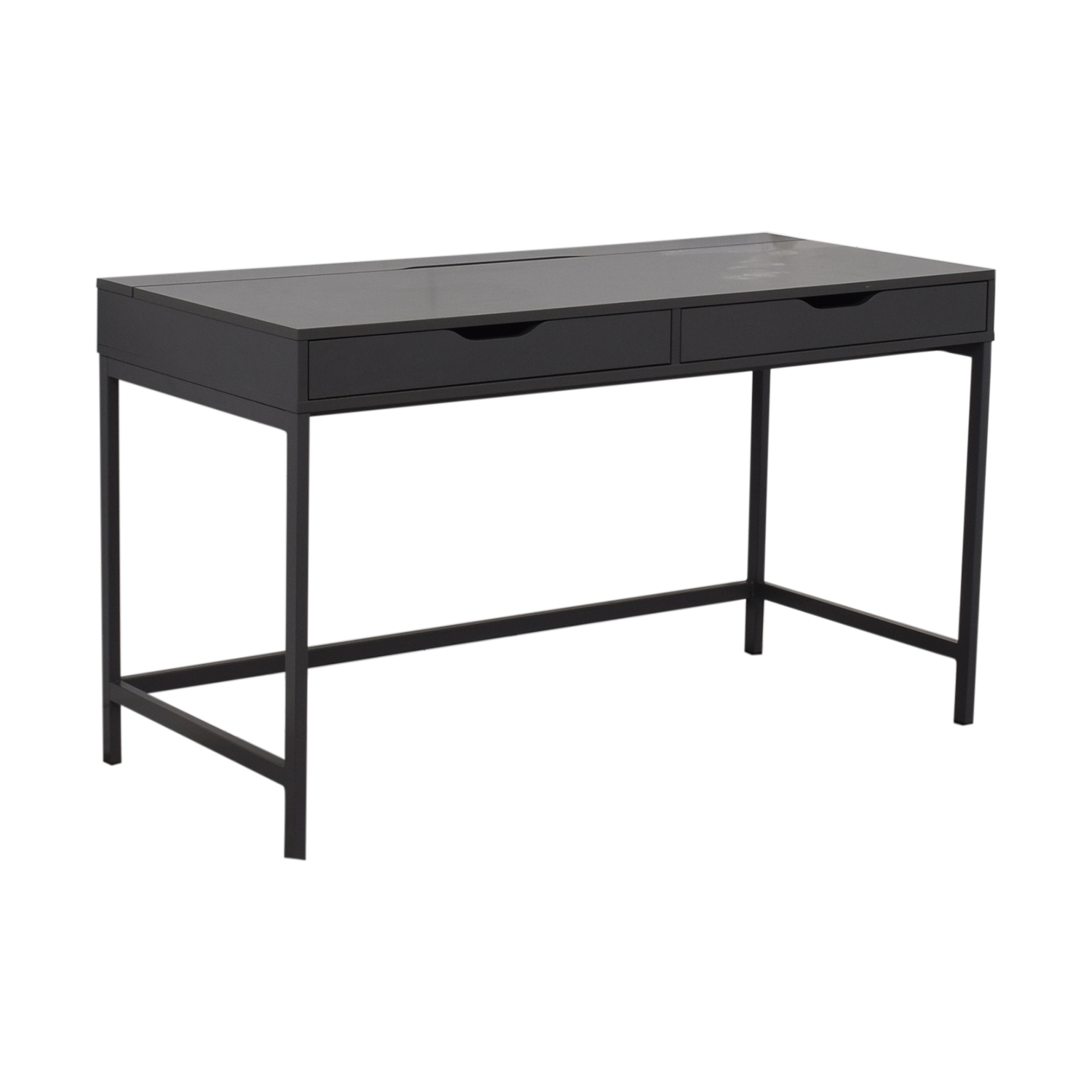 IKEA IKEA Alex Two-Drawer Desk dark grey