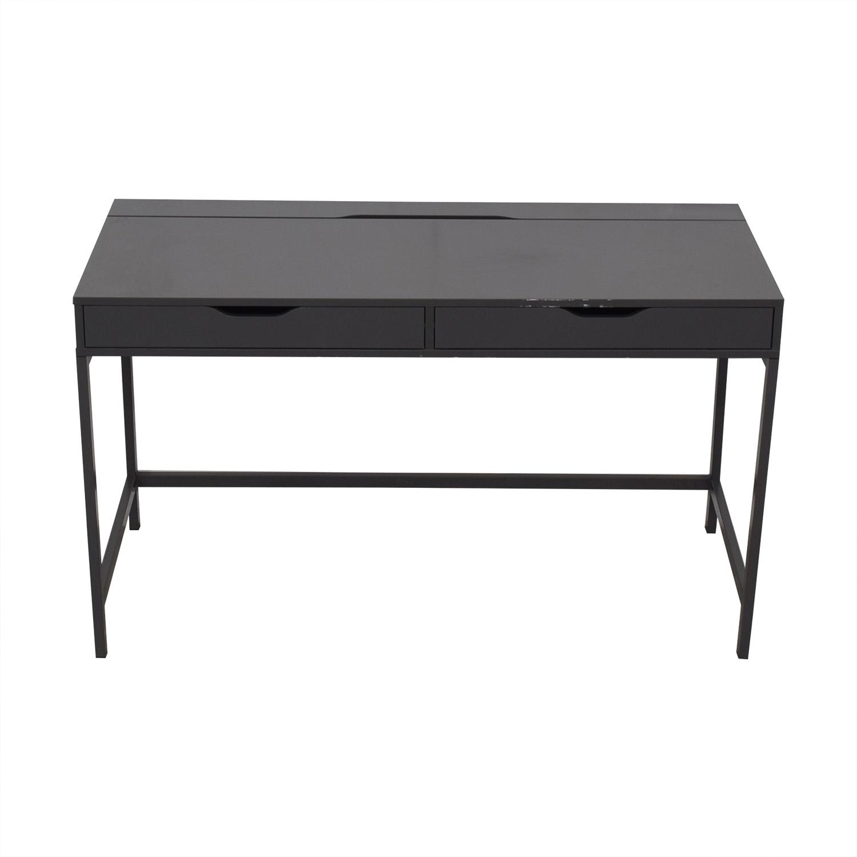 IKEA IKEA Alex Grey Two-Drawer Desk Home Office Desks
