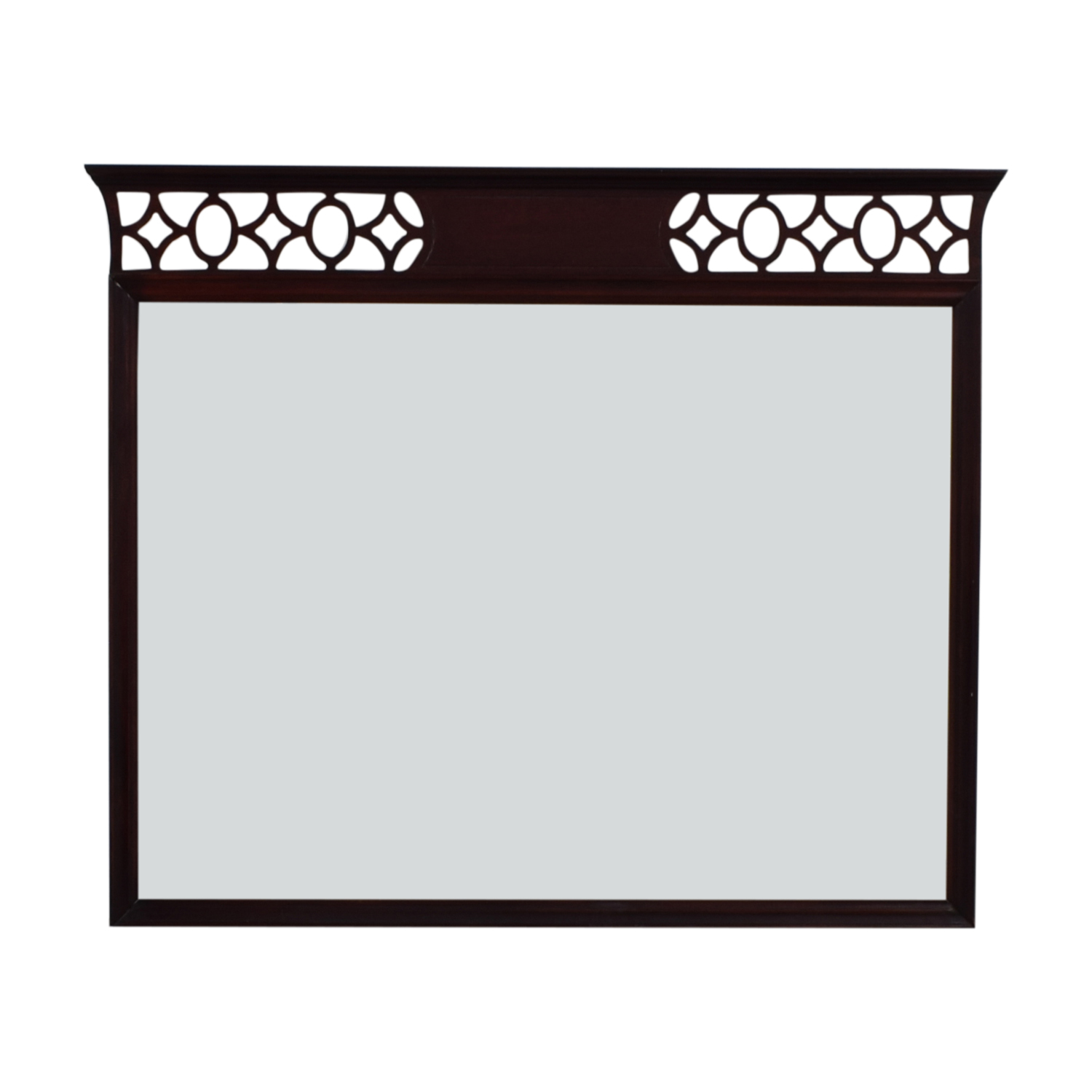 shop Vintage Diamond Border Mirror  Decor