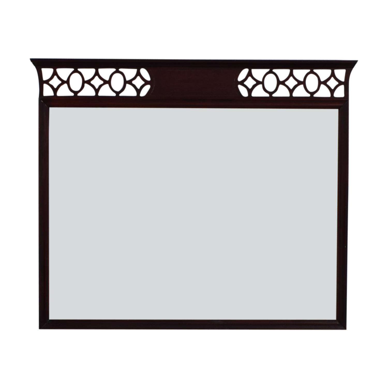 Vintage Diamond Border Mirror Mirrors