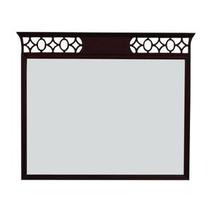 Vintage Diamond Border Mirror used