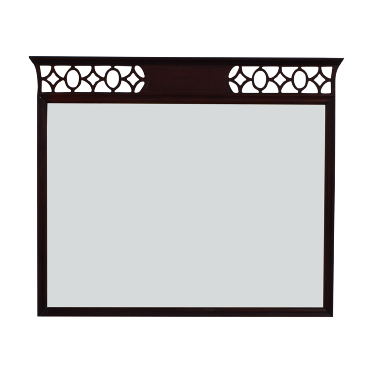 Vintage Diamond Border Mirror on sale