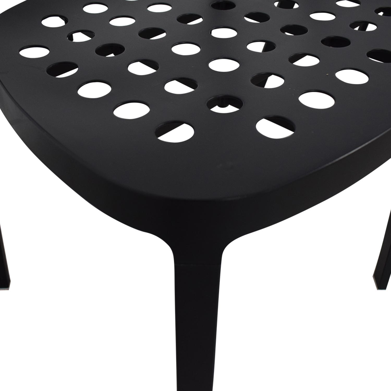 IKEA IKEA Black Metal Chairs dimensions