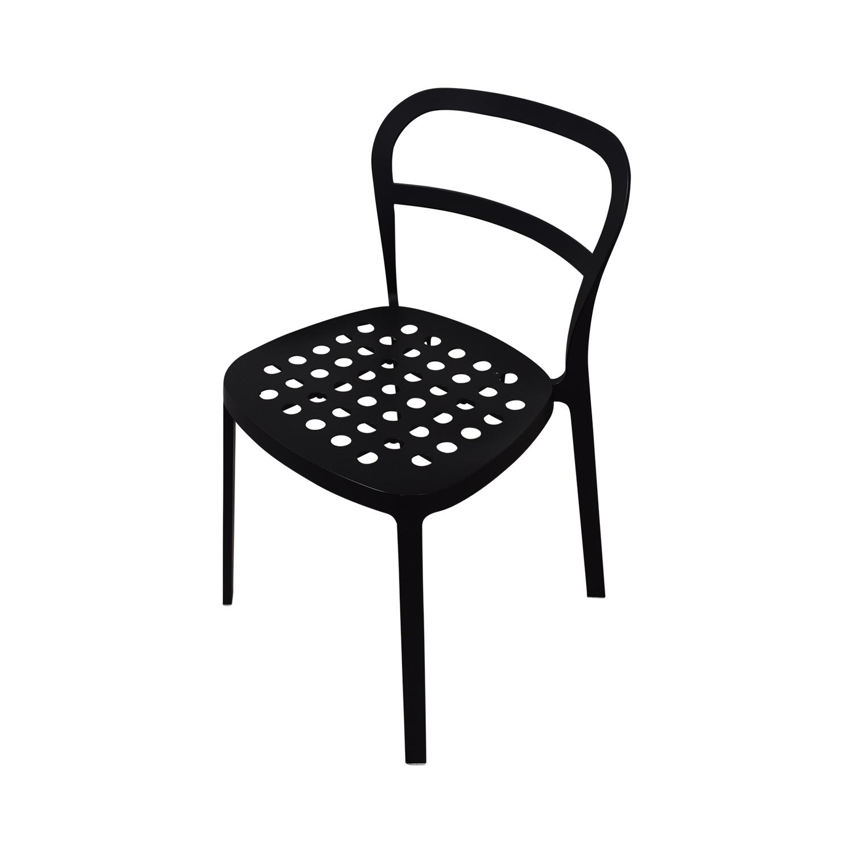 buy IKEA Black Metal Chairs IKEA