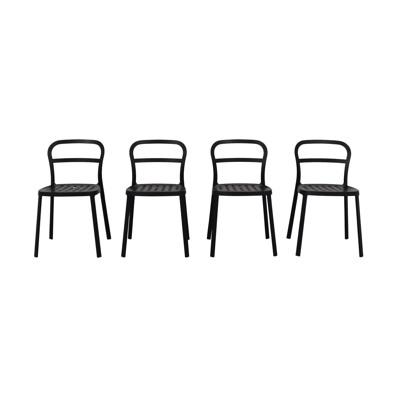 buy IKEA IKEA Black Metal Chairs online