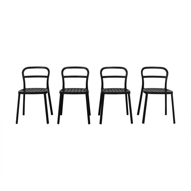 IKEA Black Metal Chairs sale