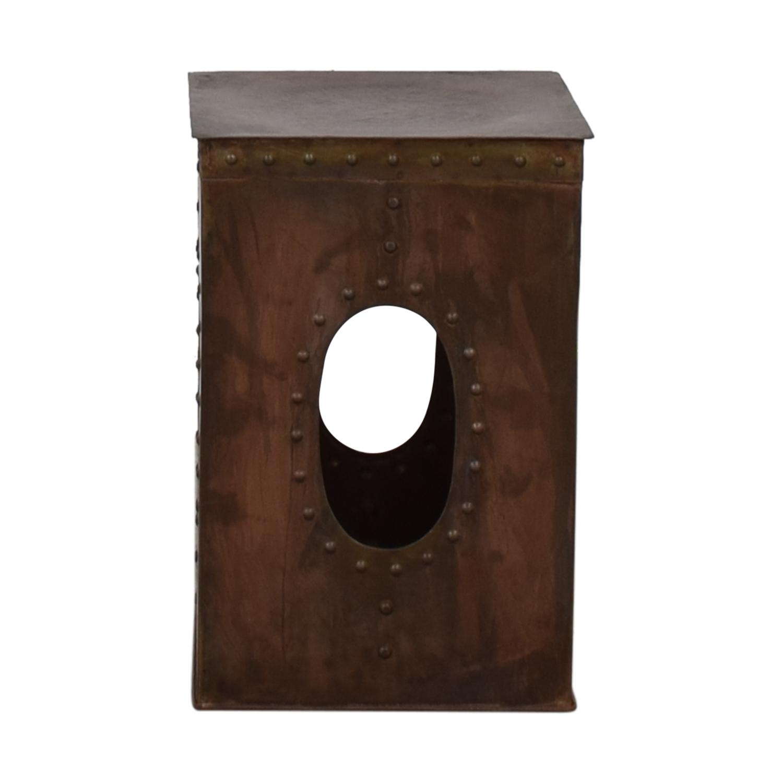 buy  Medieval Copper Side Table online