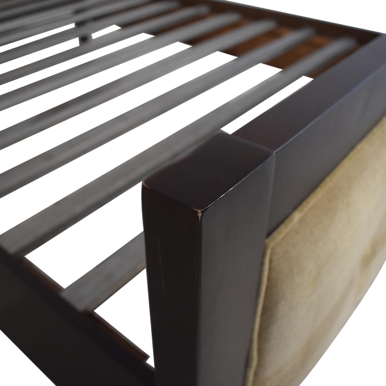 buy Room & Board Fabric Queen Bed Frame Room & Board