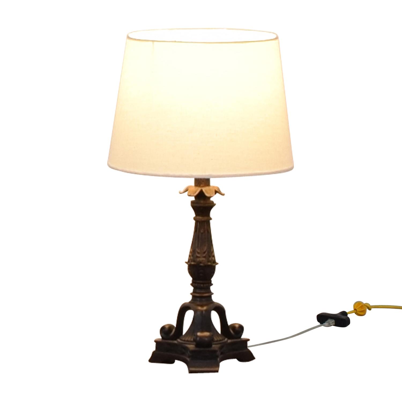 Vintage Lamp black