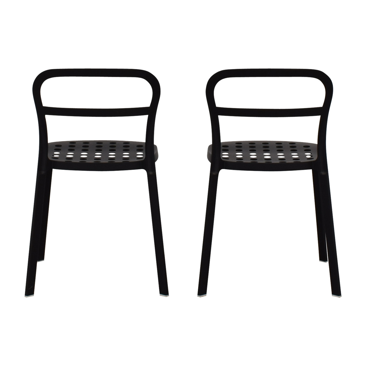 Best Picture Ikea Black Metal Chair