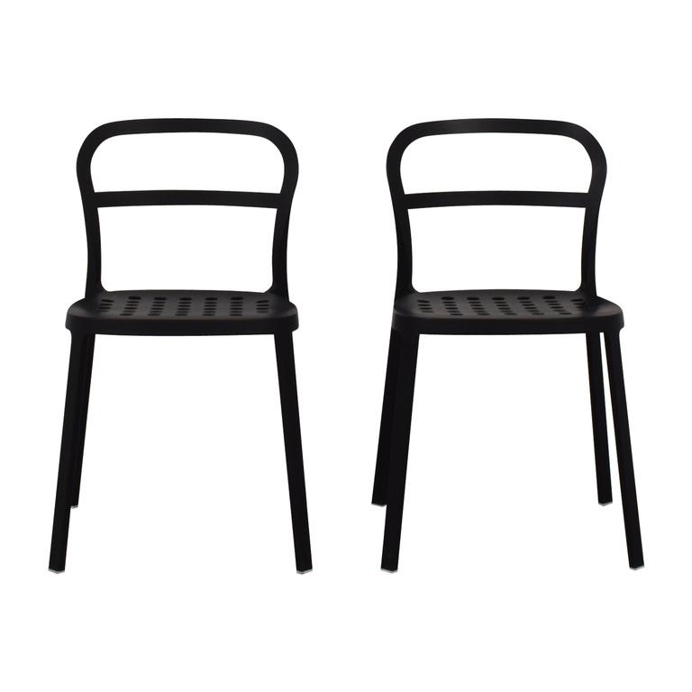 IKEA IKEA Black Metal Chairs on sale