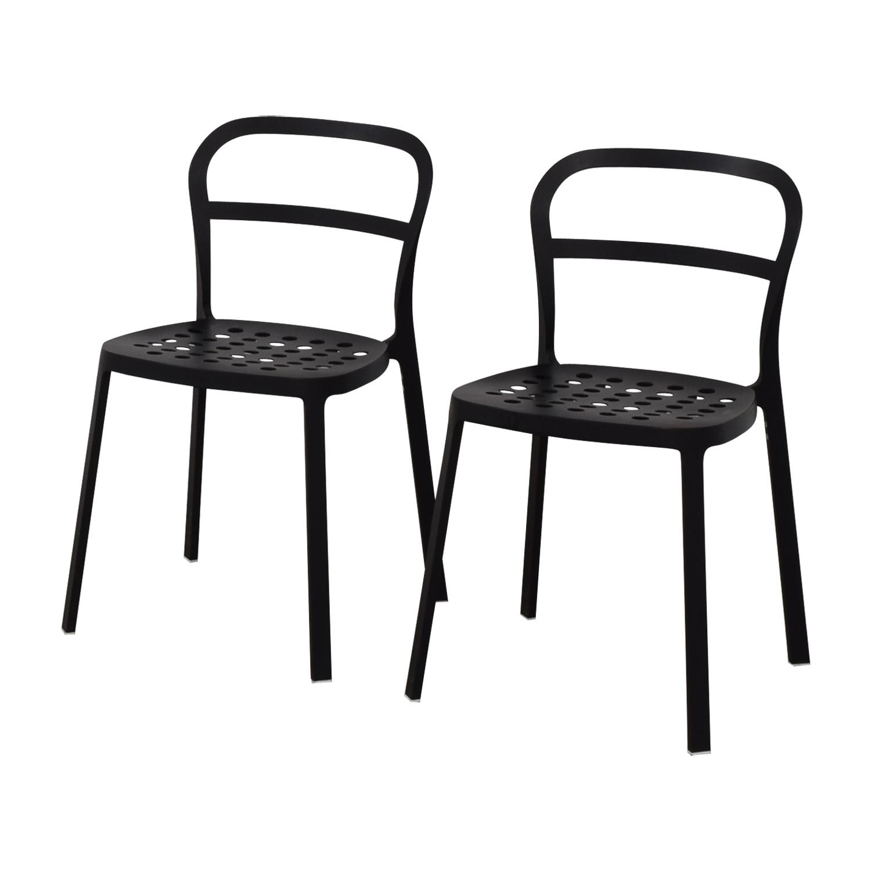 New Ideas Ikea Black Metal Chair
