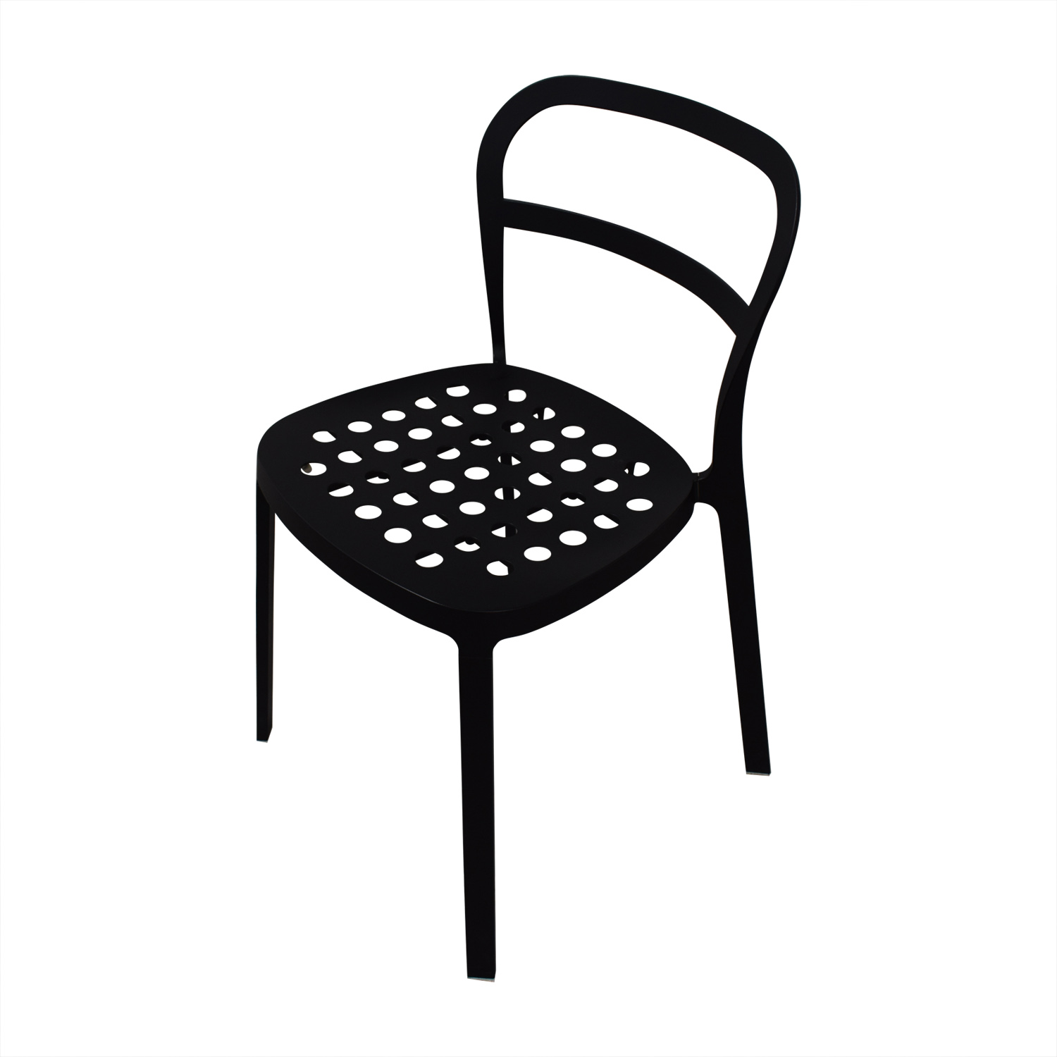 IKEA Black Metal Chairs / Accent Chairs