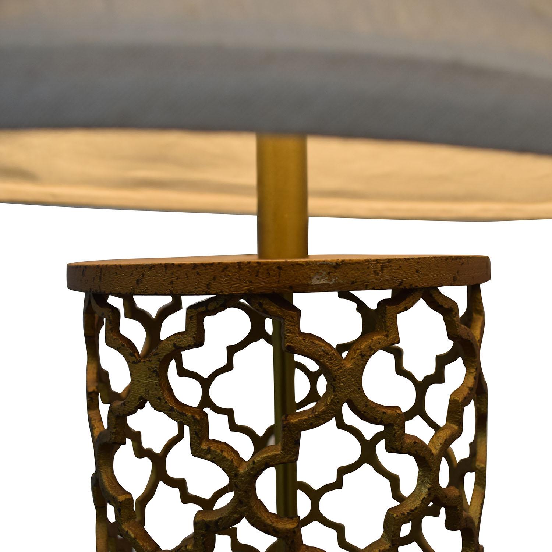 World Market World Market Gold Table Lamps on sale