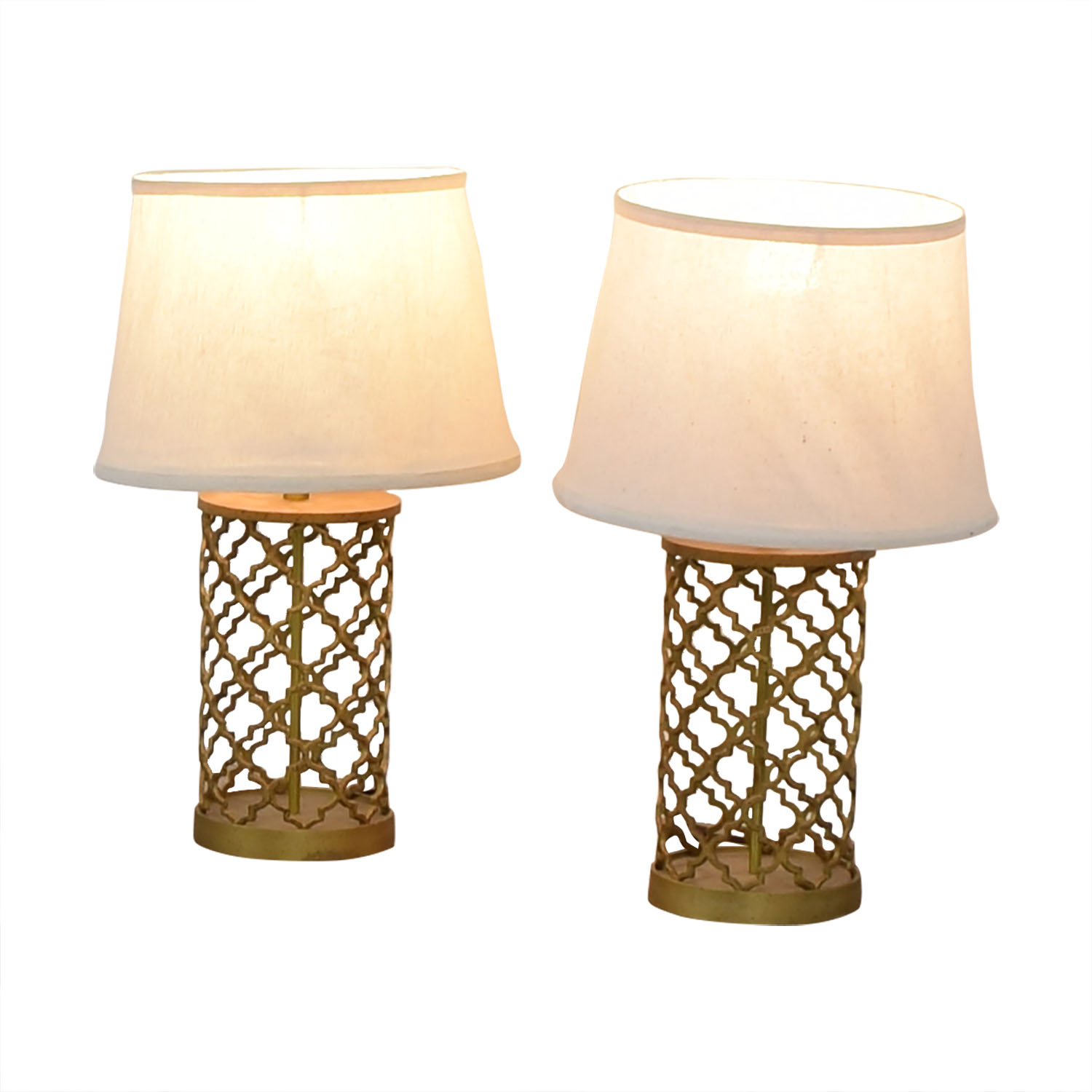 World Market Gold Table Lamps / Lamps