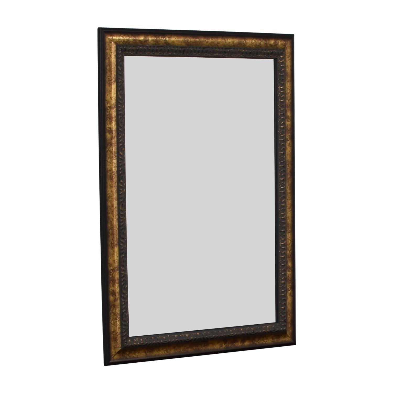 Coaster Fine Furniture Bronze Beveled Wall Mirror