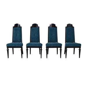 Wayfair Wayfair Blue Cushioned Dining Room Chairs dimensions