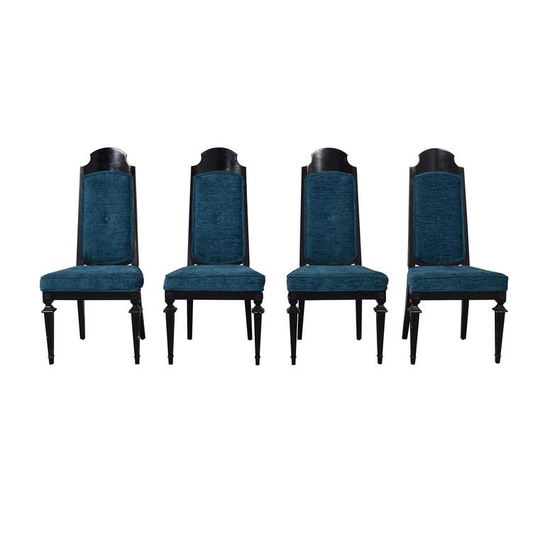 buy Wayfair Wayfair Blue Cushioned Dining Room Chairs online