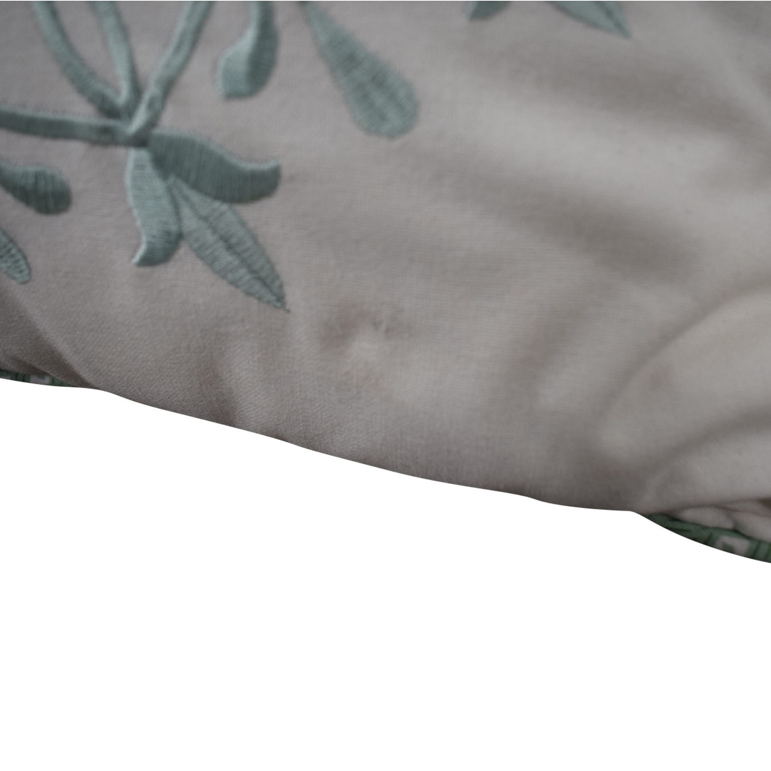 shop Macy's White and Blue Floral Accent Pillows Macy's Decor