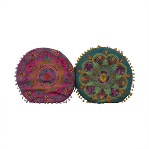 shop Wayfair Multi-Colored Circular Toss Pillows Wayfair