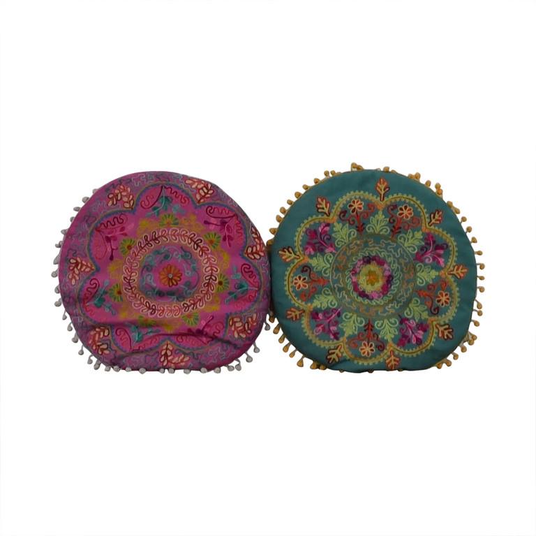 shop Wayfair Multi-Colored Circular Toss Pillows Wayfair