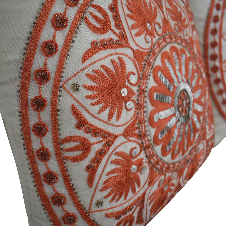 Macy's Macy's Orange Accent Pillows price