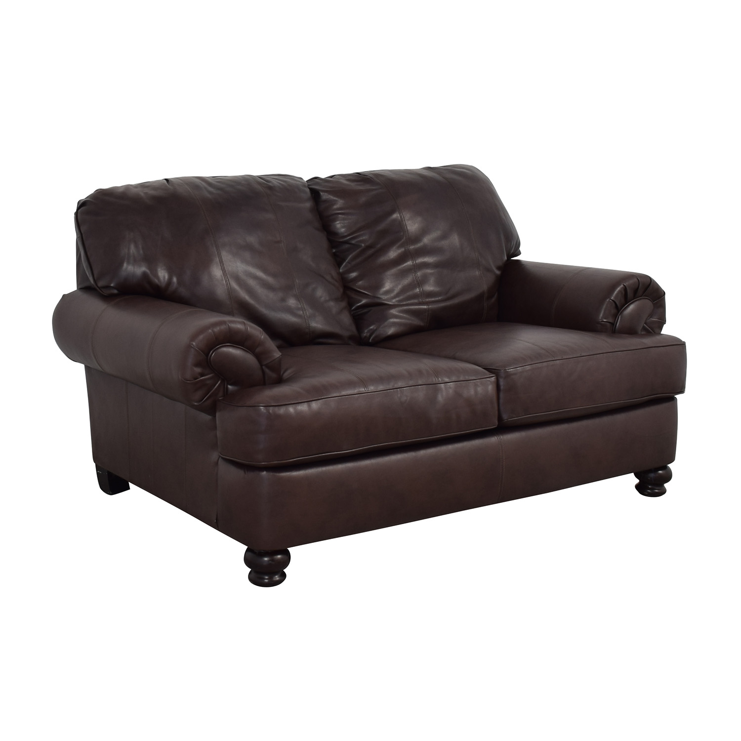 Jackson Furniture Charlotte Brown Loveseat / Sofas