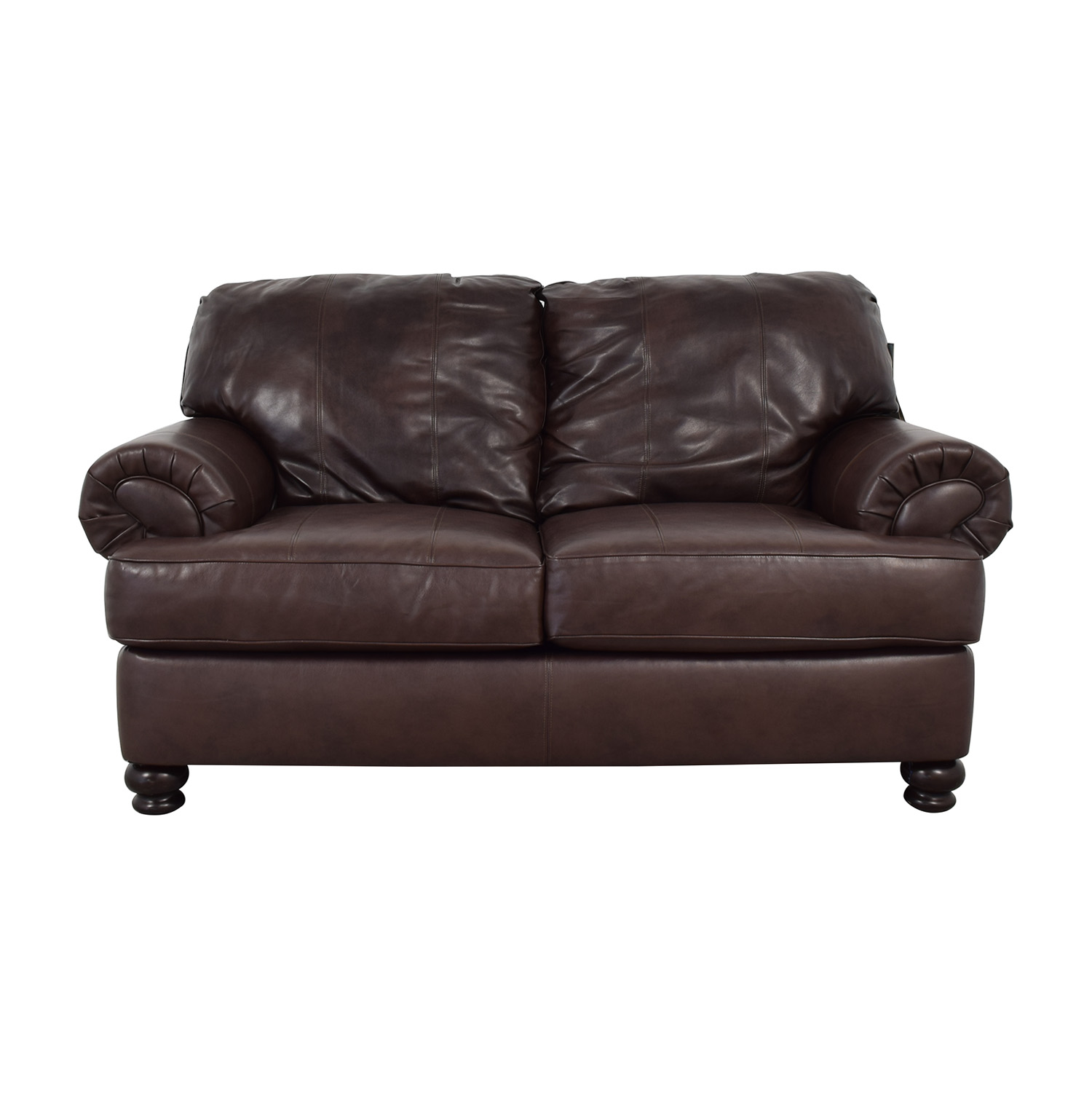 Jackson Furniture Jackson Furniture Charlotte Brown Loveseat Sofas