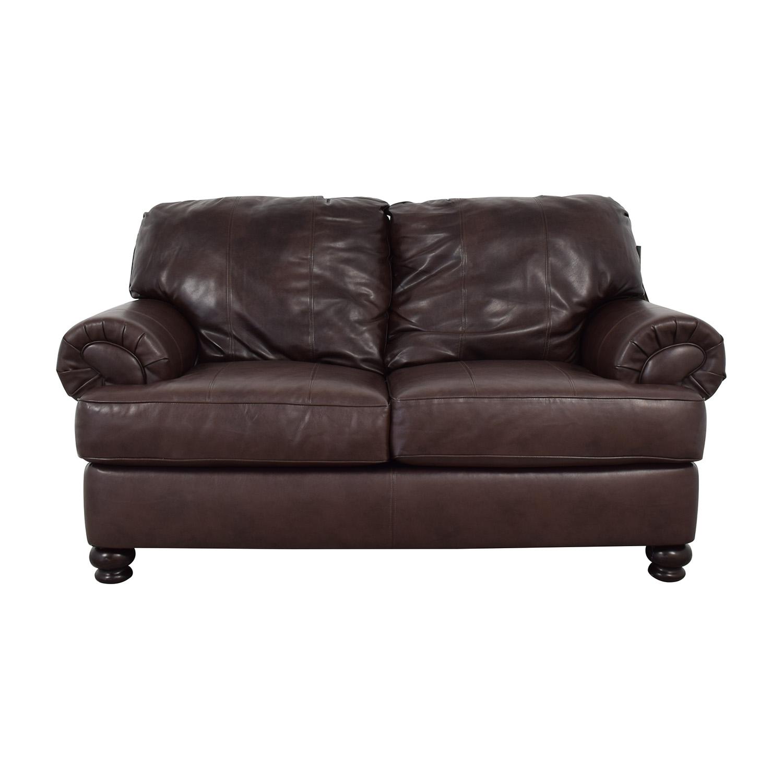 Jackson Furniture Jackson Furniture Charlotte Brown Loveseat Sofas