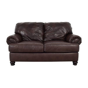 Jackson Furniture Jackson Furniture Charlotte Brown Loveseat dimensions