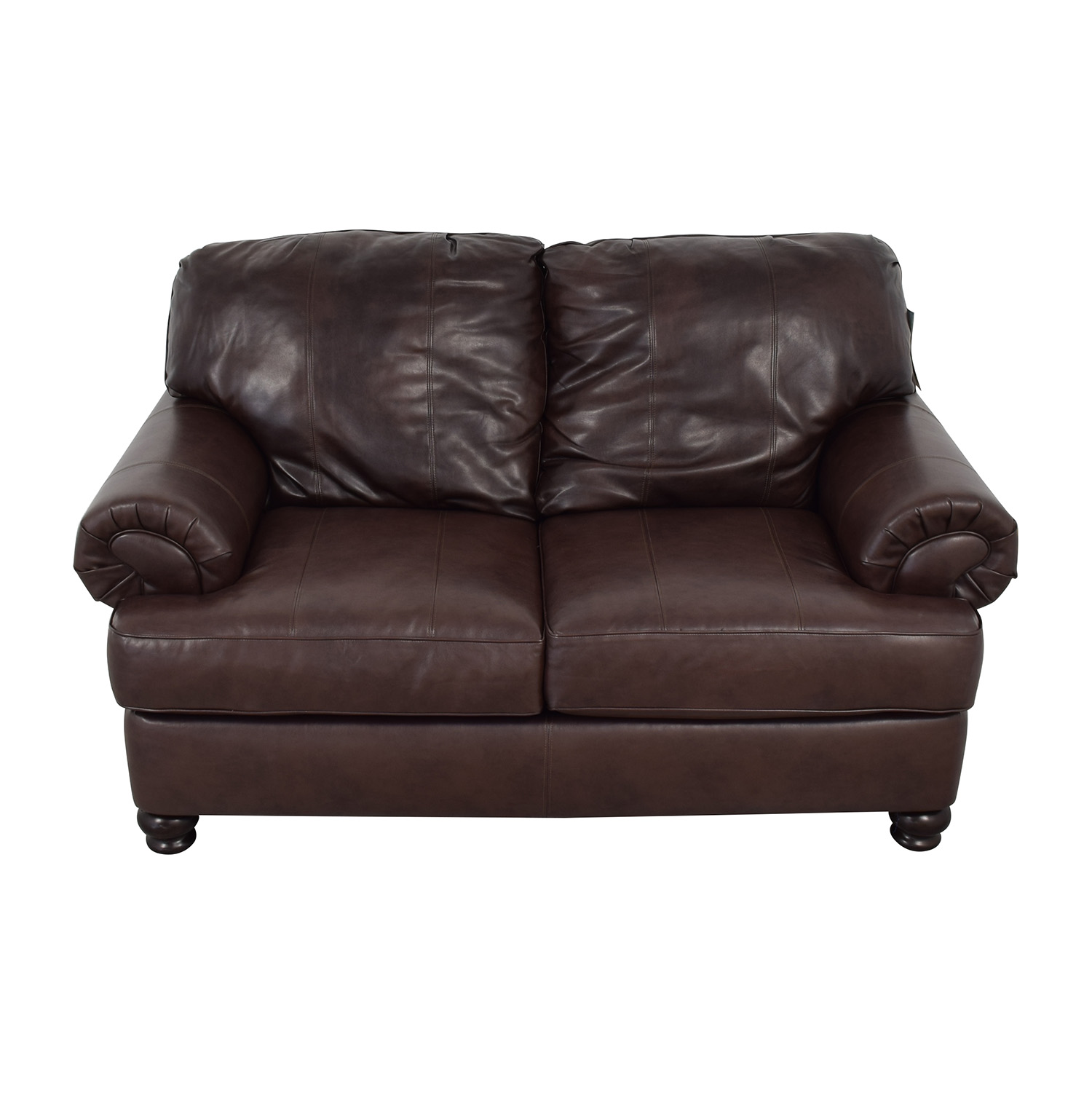 Jackson Furniture Jackson Furniture Charlotte Brown Loveseat Loveseats
