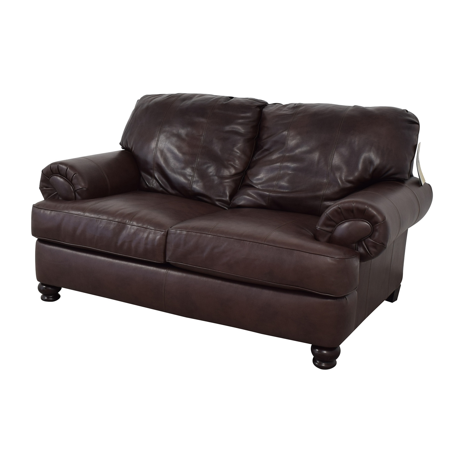 Jackson Furniture Jackson Furniture Charlotte Brown Loveseat discount