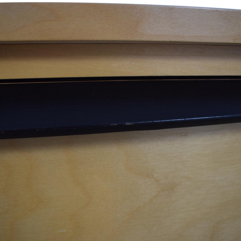 Gothic Cabinet Craft Gothic Cabinet Craft Wood Eight-Drawer Dresser second hand