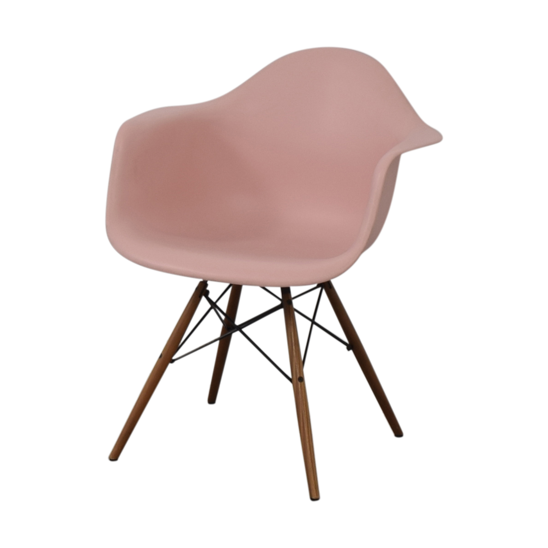 Herman Miller Herman Miller Eames Blush Molded Plastic Dowel Leg Chair discount