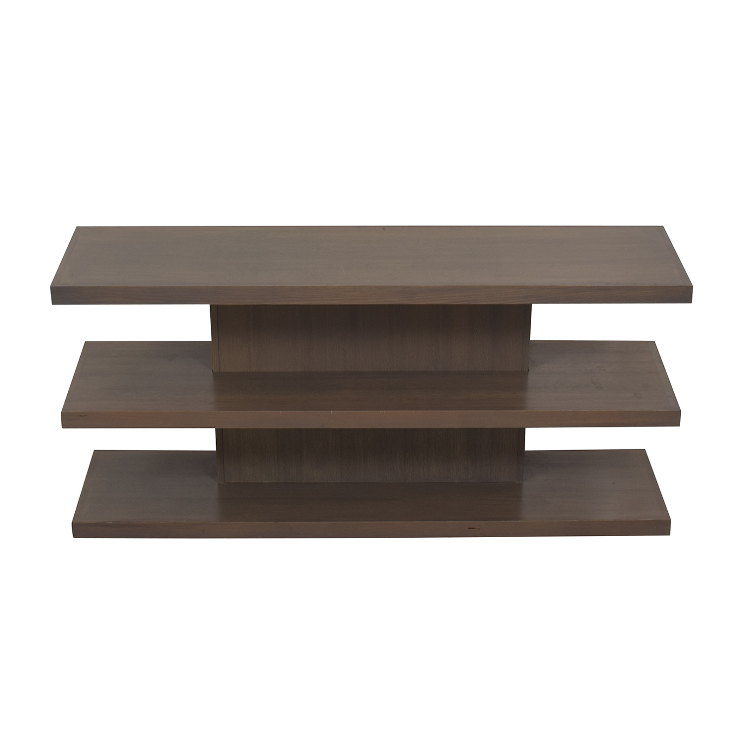 81% OFF   AA Laun AA Laun Grey Driftwood TV Stand Or Bookcase / Storage