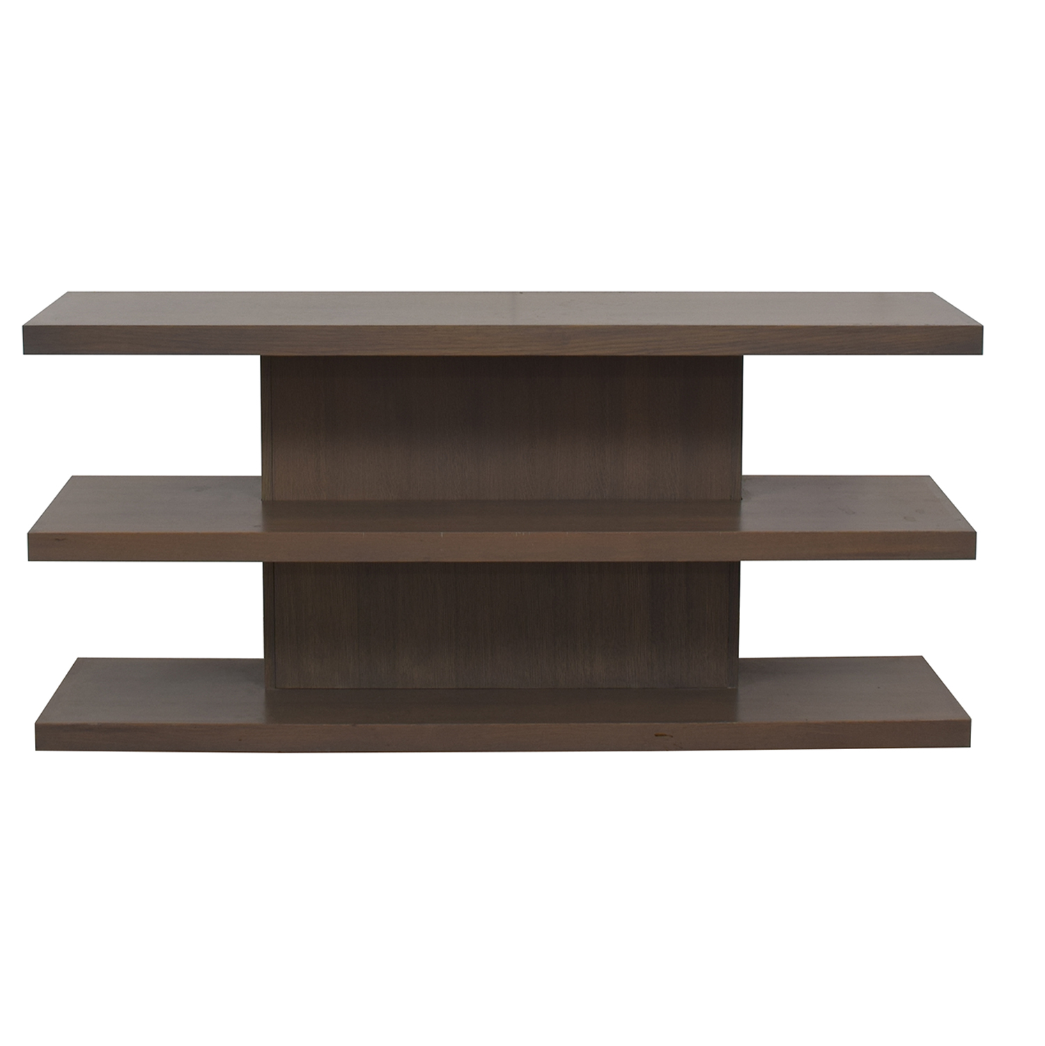81 Off Aa Laun Aa Laun Grey Driftwood Tv Stand Or Bookcase Storage