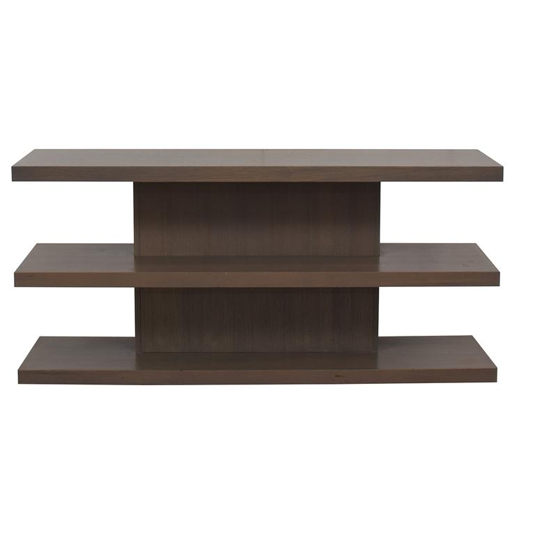 AA Laun AA Laun Grey Driftwood TV Stand or Bookcase coupon