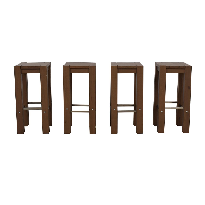 buy IKEA Bodarna Driftwood Barstools IKEA Stools