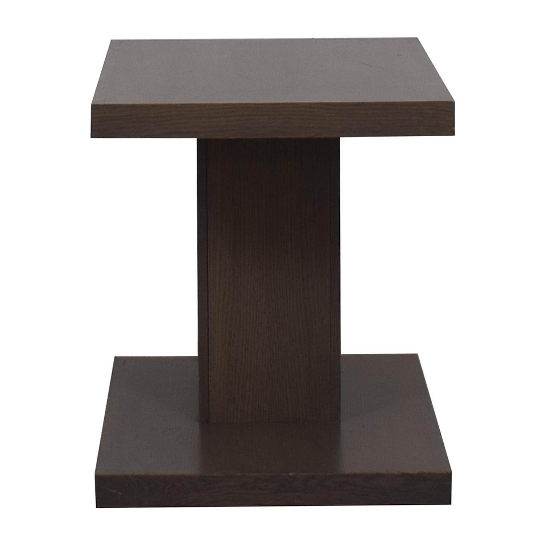 AA Laun AA Laun Grey Driftwood Side Table discount