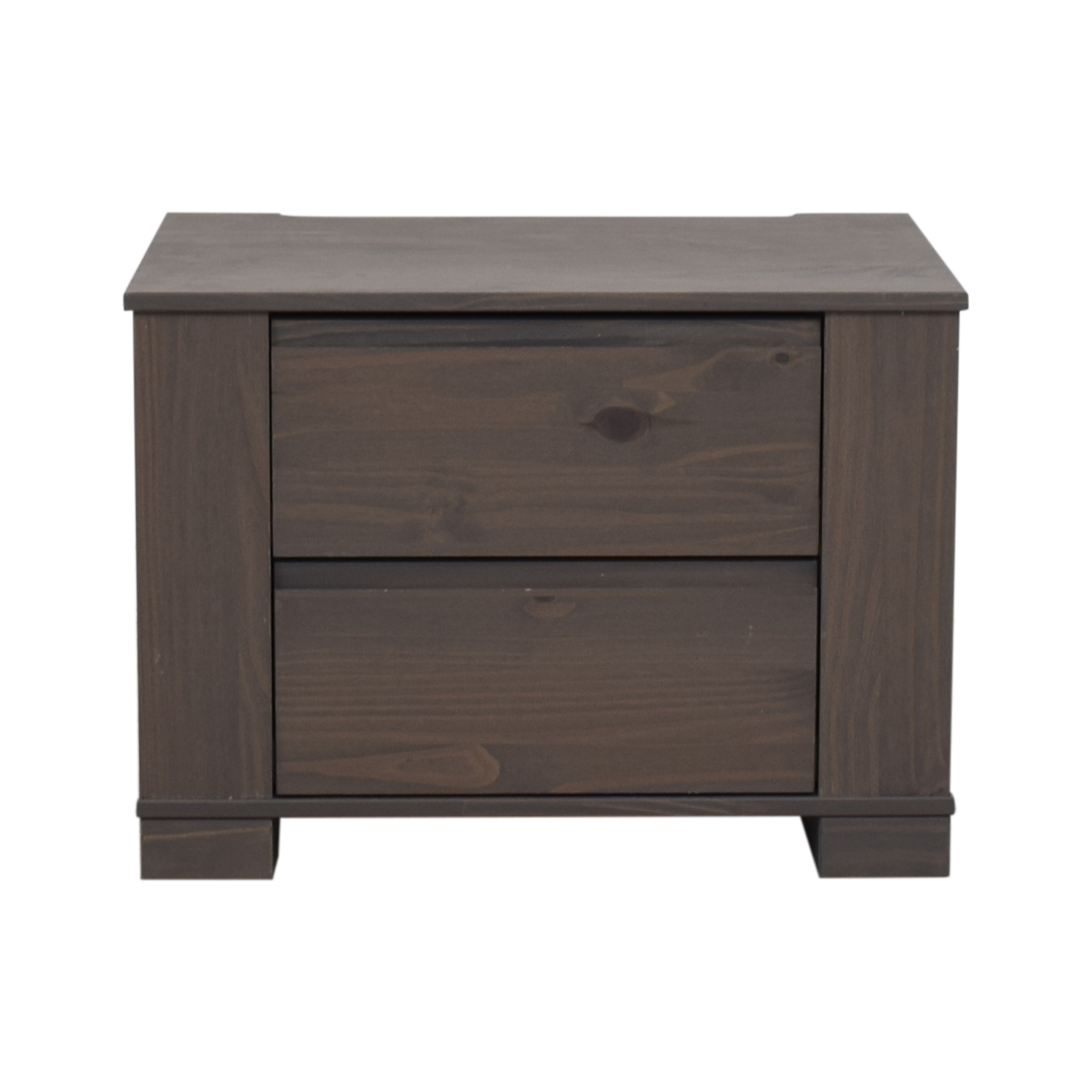 IKEA IKEA Gray Brown Hosteland Nightstand discount