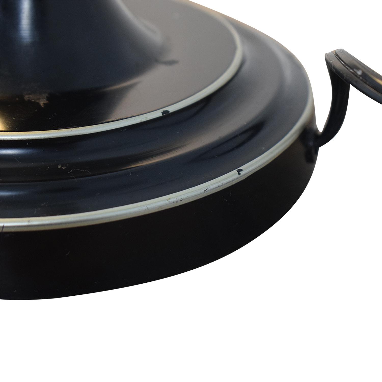 shop  Black & Silver Steel Adjustable Lever Desk Lamp online